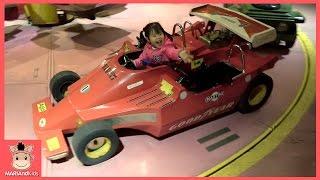 키즈카페 놀이공원 자동차 바이킹 놀이기구 꾸러기 유니 미니 에버랜드 ♡ 공원 야간개장 playground kids toys play | 말이야와아이들 MariAndKids