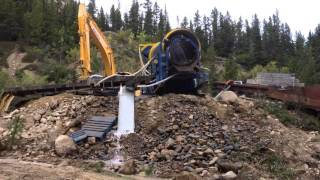 Gold Mining in Northern BC, Canada