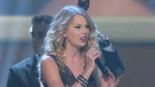 Taylor Swift White Horse Grammy Nominations 2008