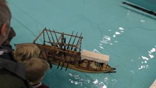 MADE UP MODEL BOAT  SHOW 2016