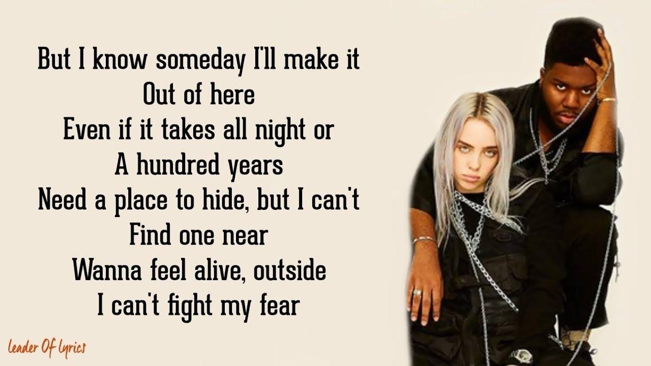 Download Billie Eilish - lovely (Lyrics) ft. Khalid