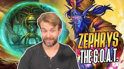 (Hearthstone) Zephrys the G.O.A.T.