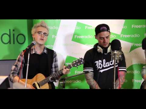 McBusted - Sleeping With The Light On live at Free Radio