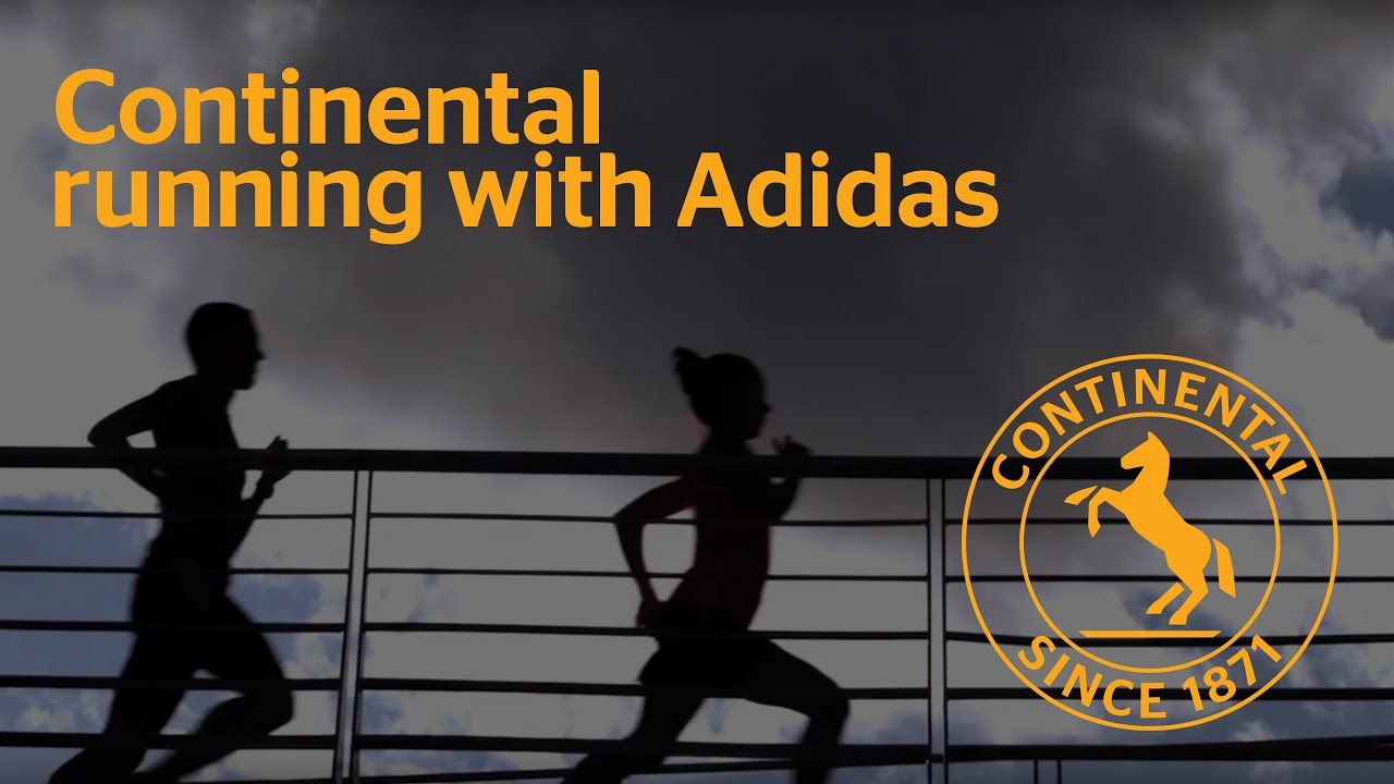 Continental running with Adidas