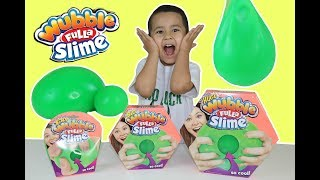 Wubble Fulla Slime, Wubble Ball full of slime TOY REVIEW, Huge,Big and Tiny super squishy Balls