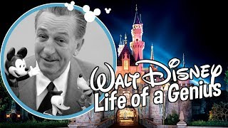 WALT DISNEY LIFE of a GENIUS
