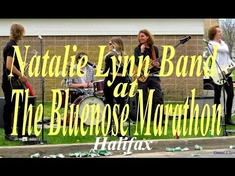 Natalie Lynn Band at Bluenose Youth Marathon in Halifax