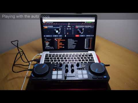 YOU.DJ software with a MIDI DJ controller