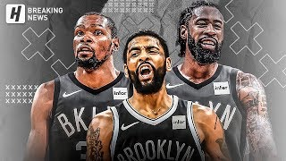 Kyrie Irving, Kevin Durant & DeAndre Jordan BEST Highlights at Barclays Center! Welcome to NETS!