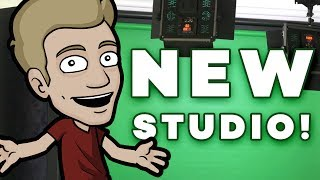 CHECK OUT STUDIO 2! - Our New Filming Space!!
