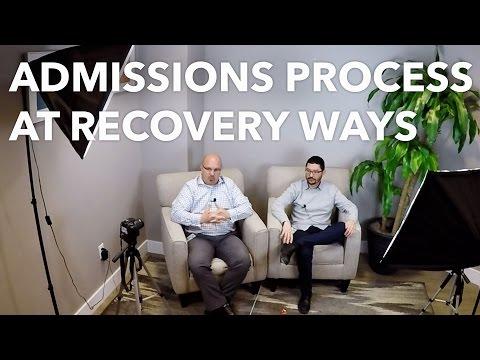 The Admissions Process at Recovery Ways   Salt Lake City Addiction Center   Utah Drug Rehab