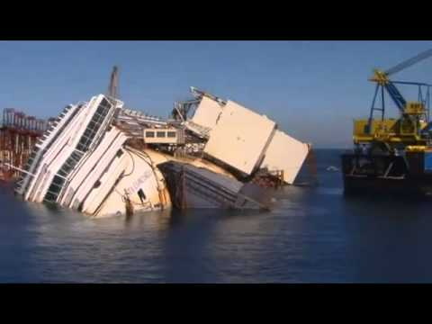 Costa Concordia Countdown To Ship's Salvage