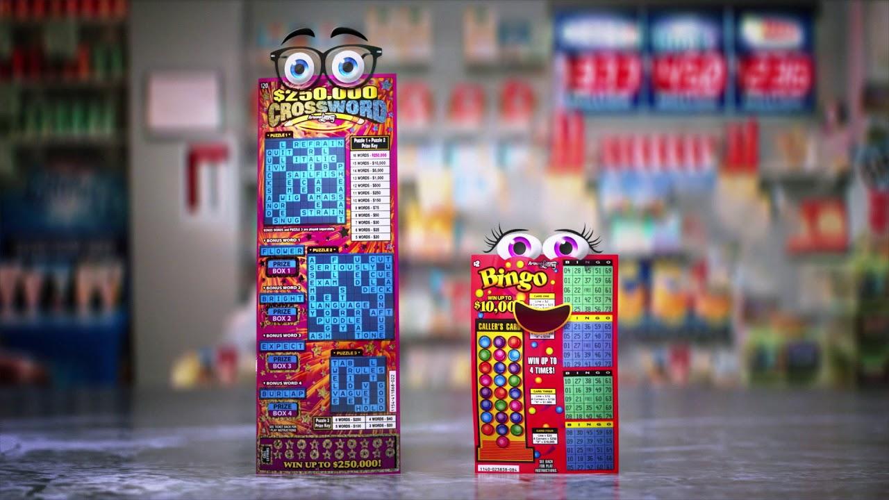 Bingo and Crossword Scratchers® Second Chance