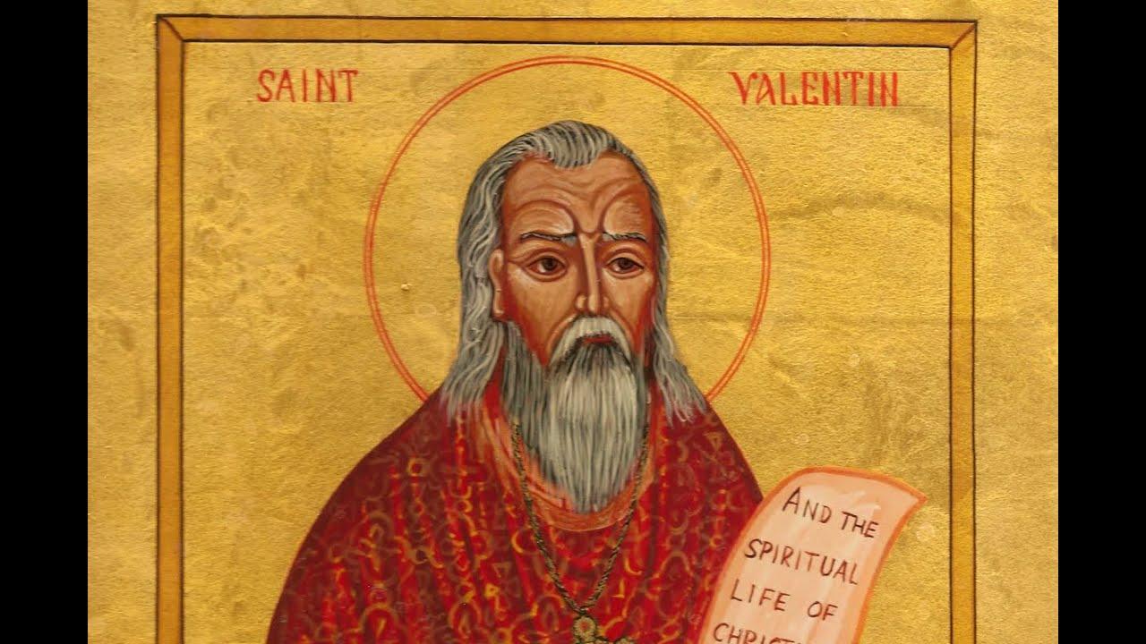 Bir Aziz Valentin çizimi...