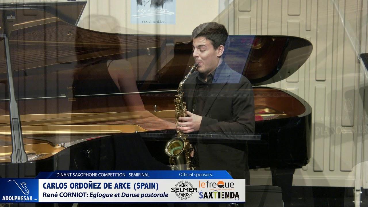Carlos Ordoñez de Arce (Spain) - Eglogue et Danse pastorale by René Corniot (Dinant 2019)