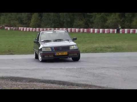 Leśnik Marcin Leśnik Mateusz - Peugeot 309 GTI - ClassicAuto Cup 5 Runda Tor Kielce 15-10-2016