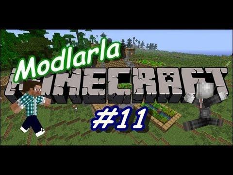 Modlarla Minecraft | Ev Saldırıları - B.11