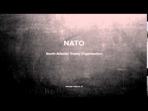 What does nato stand for – buzzpls.Com