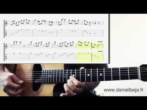 Minor Swing Django Solo Tab & Grappelli Solo on guitar...