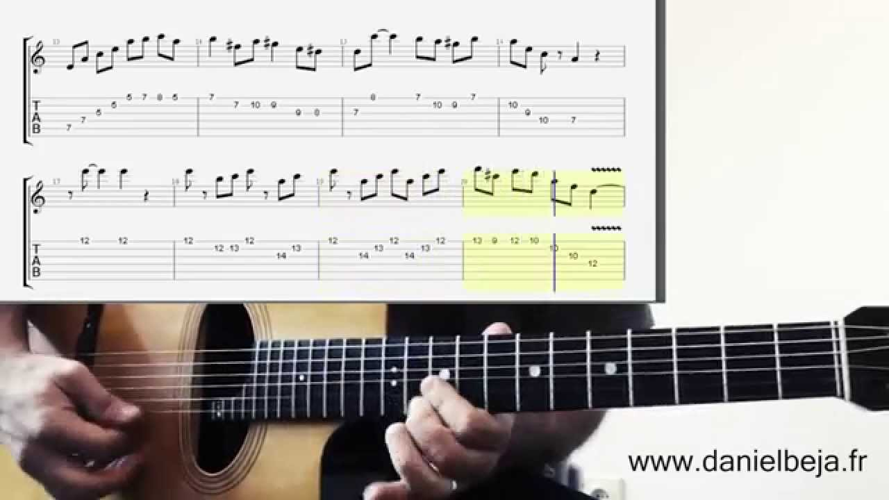 Minor Swing Guitar And Violin Solo Tabs Youtube
