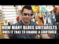 Guitar Jokes in a Guitar Store