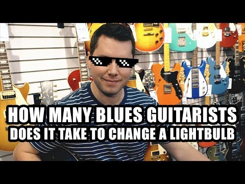 Guitar Jokes in a Guitar Store