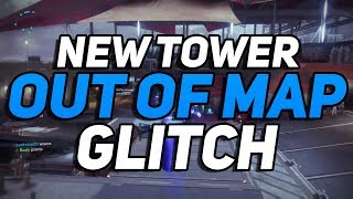 Destiny 2 - NEW Tower Out of Map Glitch! (Speed Boost/The Floor Is Lava)