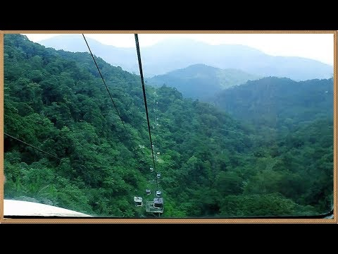 How high is Genting Highland (Cable Car Riding at Genting Highlands in Malaysia)