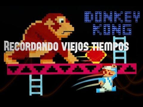 Donkeykong Clasico Recordando Viejos Tiempos Youtube