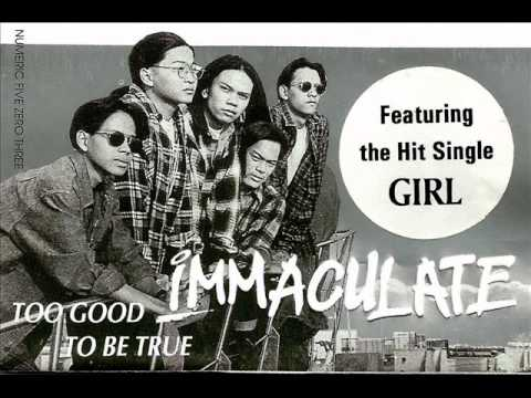 Girl (Immaculate) Too Good To Be True LP.wmv