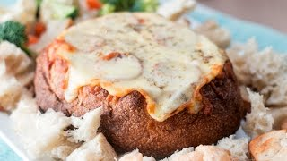 Pizza Dip Bread Bowl Recipe