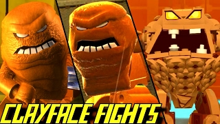 Evolution of Clayface Battles in LEGO Batman Games (2008-2017)