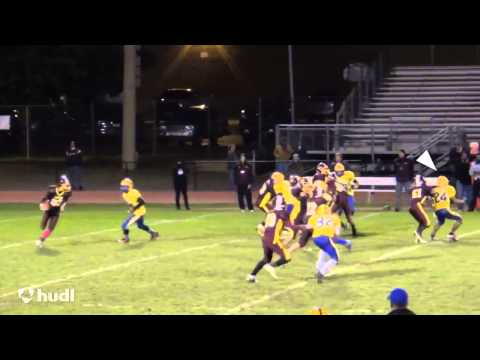 Jordan Berry, #24, Football Highlight