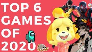 Top 6 Games of 2020