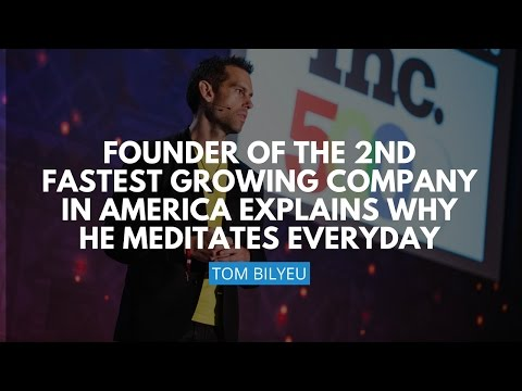 Founder Of The Second Fastest Growing Company In America Explains Why He Meditates Everyday