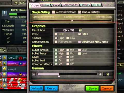 CrossFire - How to Increase FPS