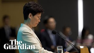 Download Video Hong Kong leader Carrie Lam offers apology after protests MP3 3GP MP4