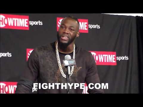 "DEONTAY WILDER REMINDS STIVERNE ABOUT HIS ""EXTREME"" POWER; WARNS HE WON'T LAST ALL 12 ROUNDS"