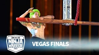 Jamie Rahn at the Vegas Finals | American Ninja Warrior