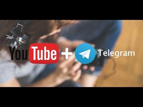 Telegram Yordamida YouTubedan Video Ko'chirish