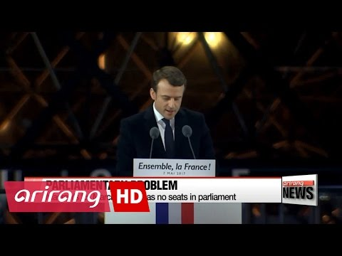 Emmanuel Marcon beats Marine Le Pen to claim French presidency