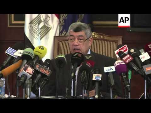 Interior minister on alleged Muslim Brotherhood links to militants