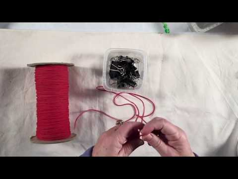 DIY Screen print drying line/rack