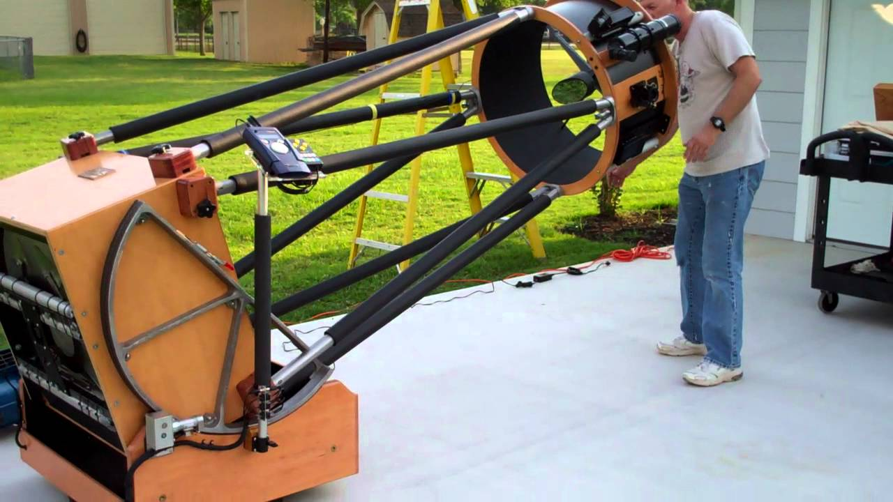 Preparing For Super Moon 2012 With 25 Inch Dobsonian