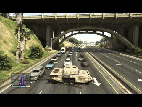 GTA 5 - Five Star Tank Rampage/Escape