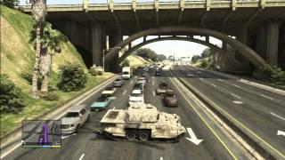 GTA 5 - Five Star Tank Rampage/Escape