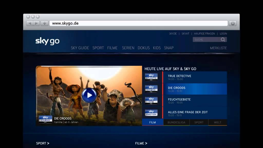 Why is SkyGO in Germany so Much Better and in HD? | AVForums