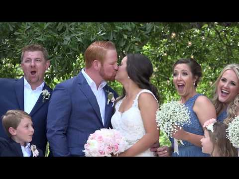 The Carriage House, Conroe, Chelsea & Brad Wedding Highlights