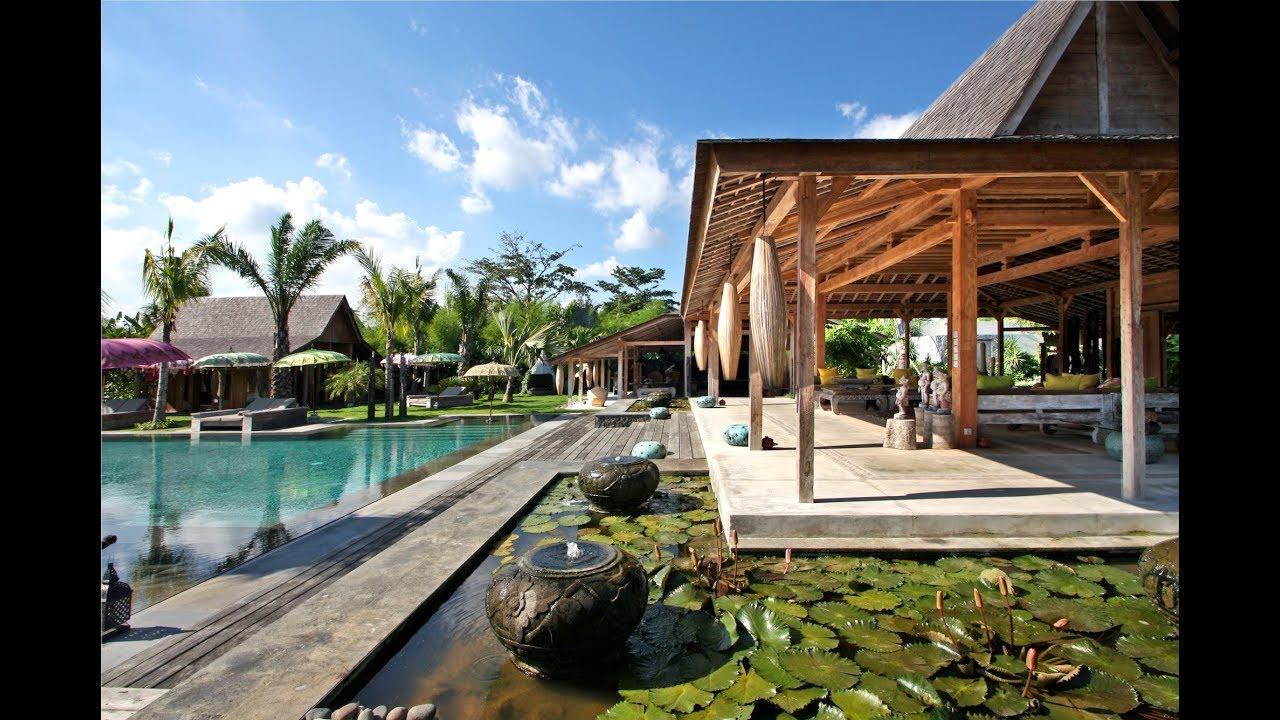 Villa Kayu Bali Luxury Villa W 4 Bedrooms Youtube
