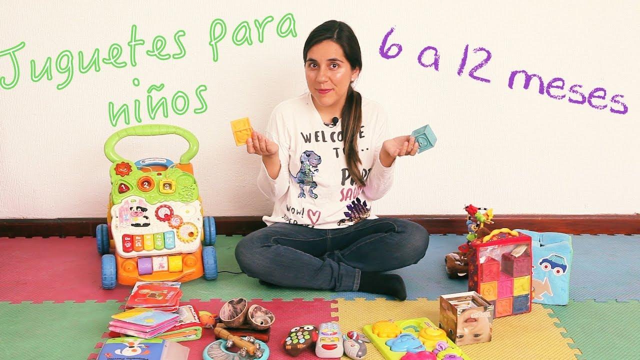 Recomendación De Juguetes Para Bebés De 6 A 12 Meses Parte 1 Youtube